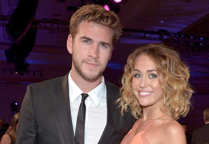 Liam Hemsworth e Miley Cirus
