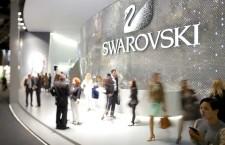 Lo stand Swarovski