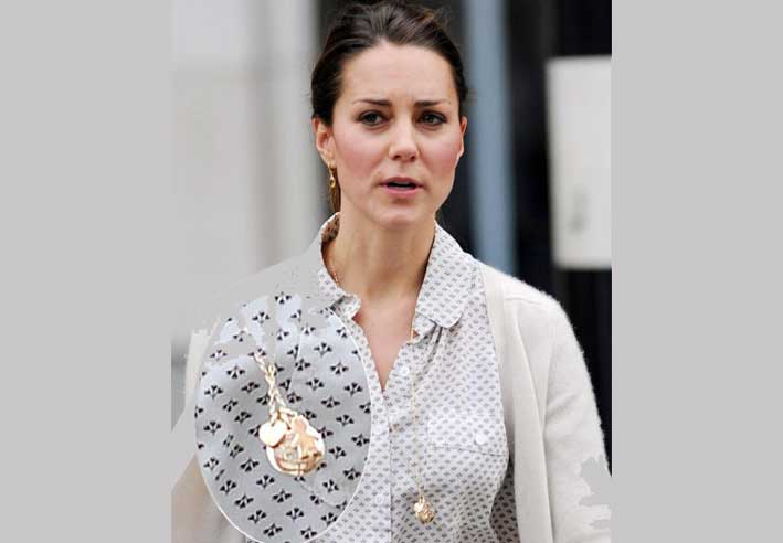 Pippa Middleton con la collana di Merci Maman