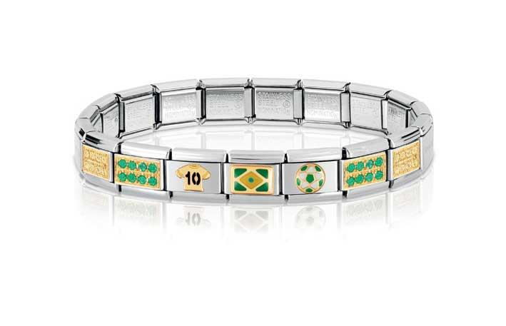 Il bracciale componibile dedicato al Brasile