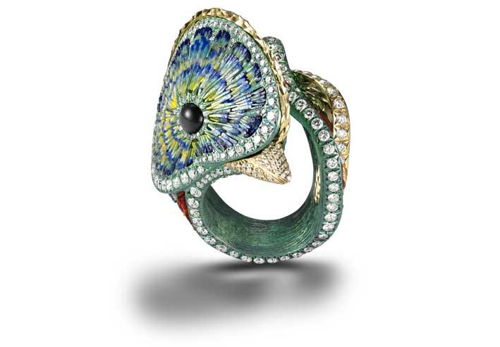 L'anello Quetzal di Sicis