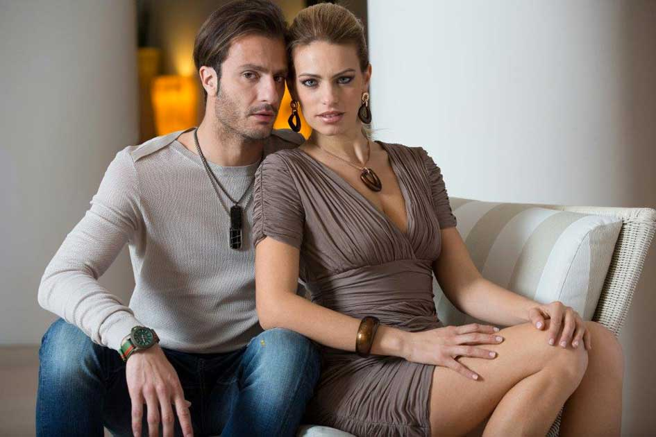 Alberto Gilardino assieme alla moglie Alice