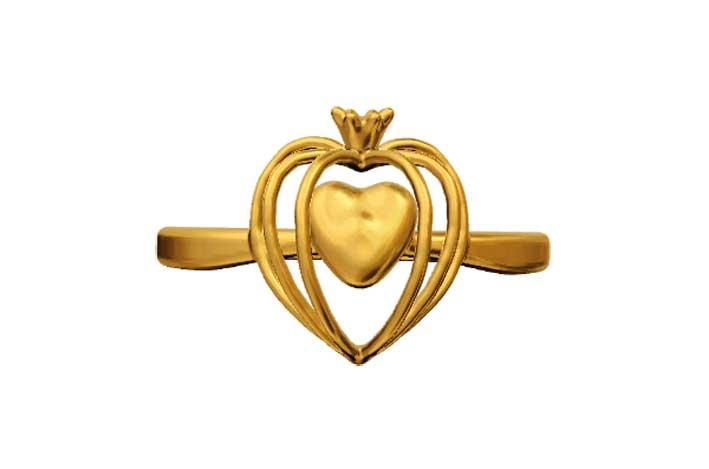 Anello d'oro. Prezzo: 319 euro