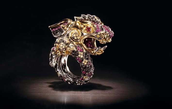 Dragone anello