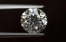 Diamante con taglio a brillante