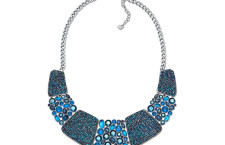 Amazing All Around Necklace,  placcata in palladio. Prezzo 349 euro