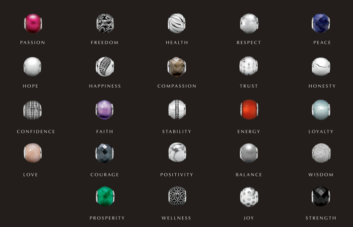 I charm della collezione Essence di Pandora