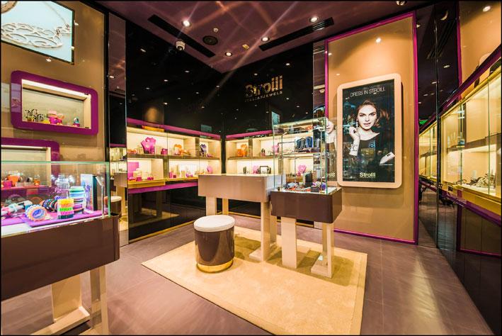 La boutique Stroili negli Emirati Arabi