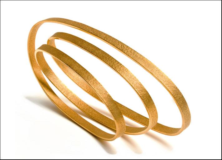 Ute Decker: bracciale in oro riciclato
