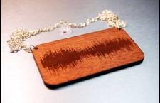 Collana Tardis versione in legno
