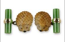Gemelli con palma fossile e giada