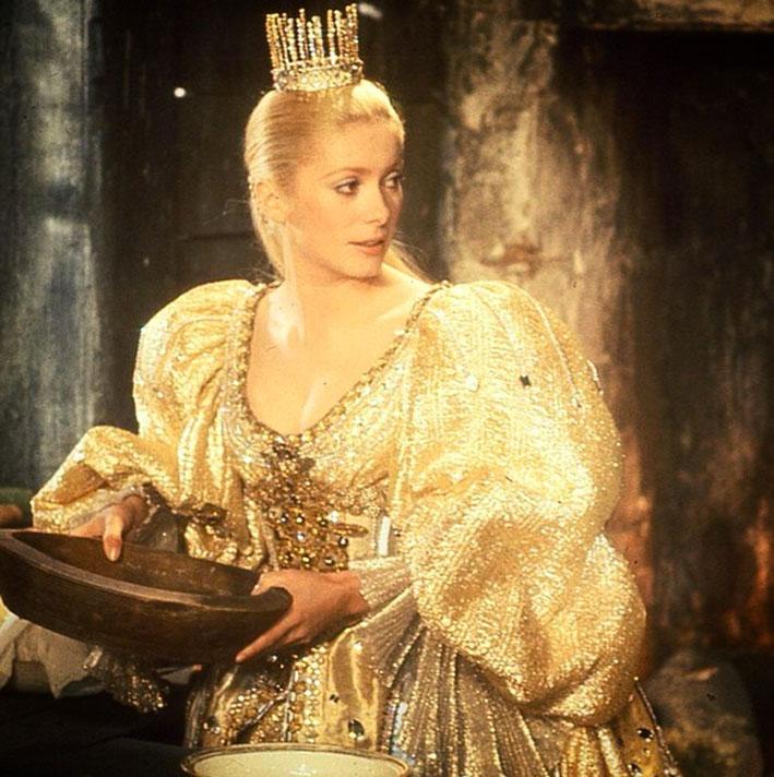 Catherine Deneuve nel film di film di Jaques Demy, «Peau d'âne»