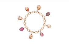 Il bracciale Fabergé con i charms a uovo