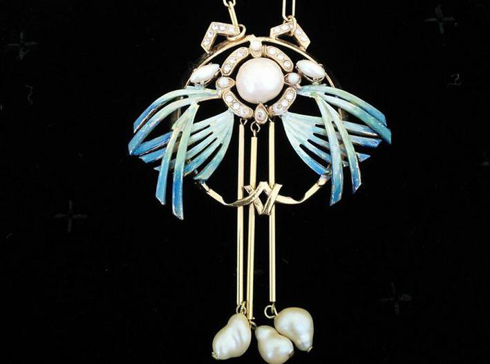 Ornella Bijoux: collana a forma di fenicottero