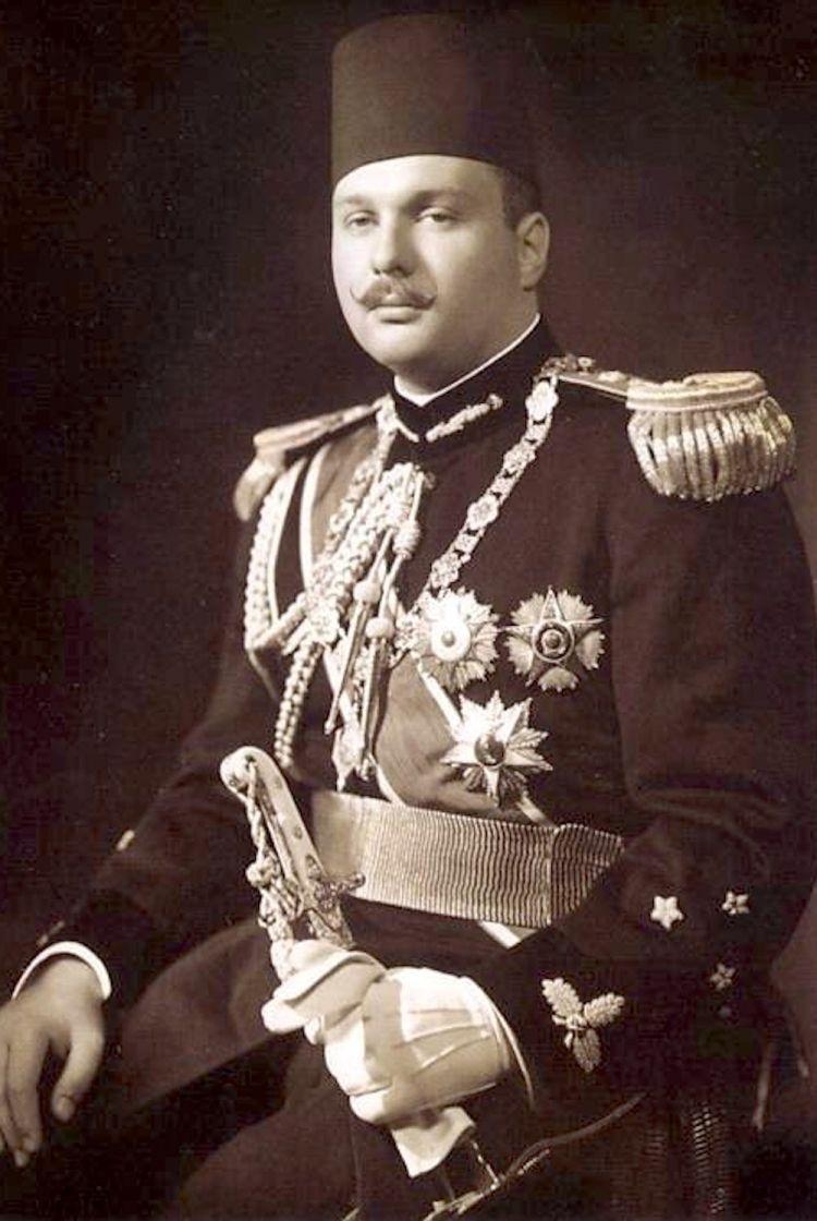 Re Farouk d'Egitto