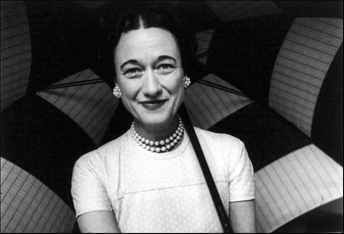 La celebre foto di  Toni Frissell della duchessa di Windsor