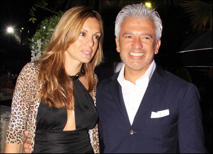 Paola Bagnoli e Alessandro Testi, marito e moglie rispettivamente direttore comunicazione e ad di Rebecca