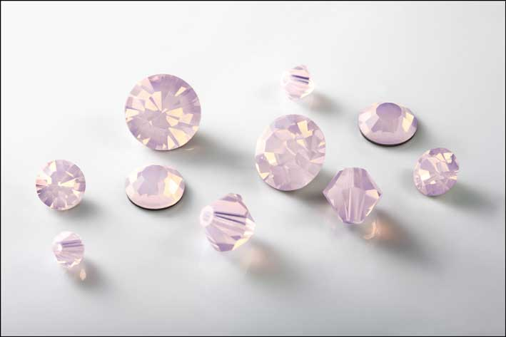Cristalli rosa opale