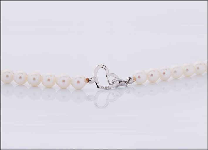 Collana di perle Amami