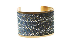 Bling bling Denim Collection, bracciale rigido
