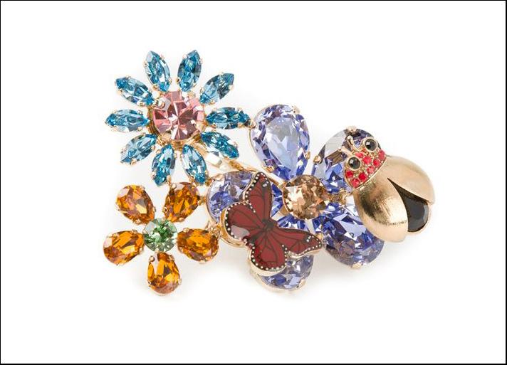 Dolce&Gabbana, anello doppio
