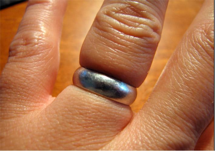 Come sfilare un anello dal dito