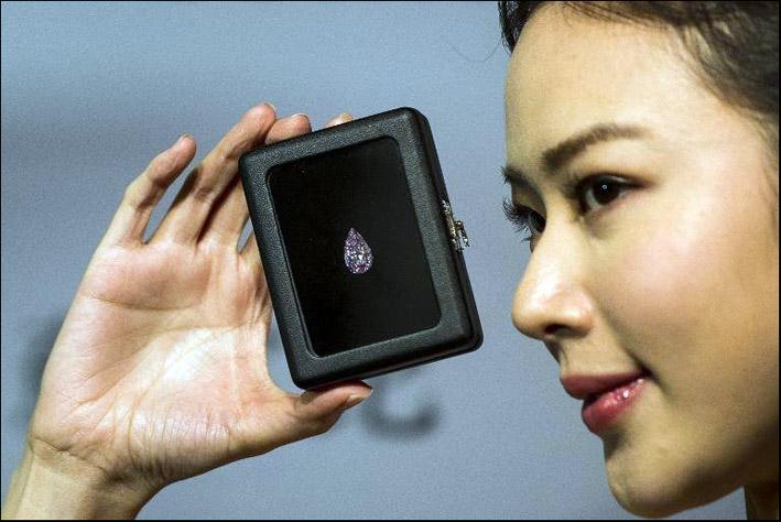 Il diamante da 14 milioni di euro