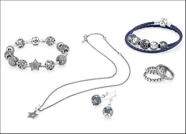 La collezione Starry night di Pandora.