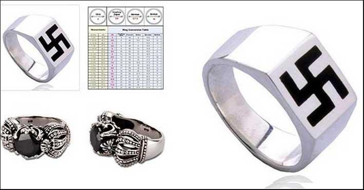 L'anello con la svastica