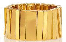 Lele Sadoughi, bracciale. Prezzo: 370 euro