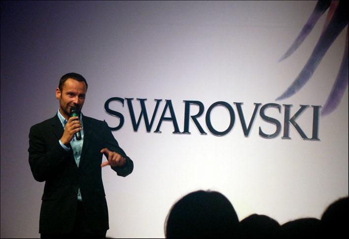 Robert Buchbauer, ceo di Swarovski
