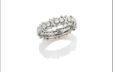 Fedina di diamanti di Schlumberger per Tiffany. Stima: 1000 euro