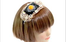 Diadema con uovo