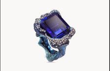 Wallace Chan, bracciale Tempesta, con tanzanite da 22 carati, lapislazzuli, diamanti e zaffiri
