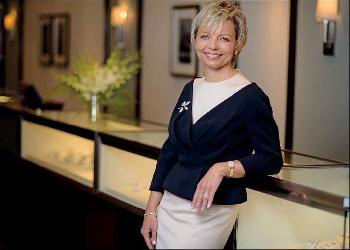 Florence Rollet, presidente di Tiffany Europe