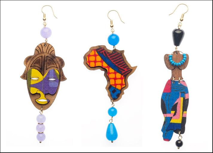 Lebole, orecchini Africa