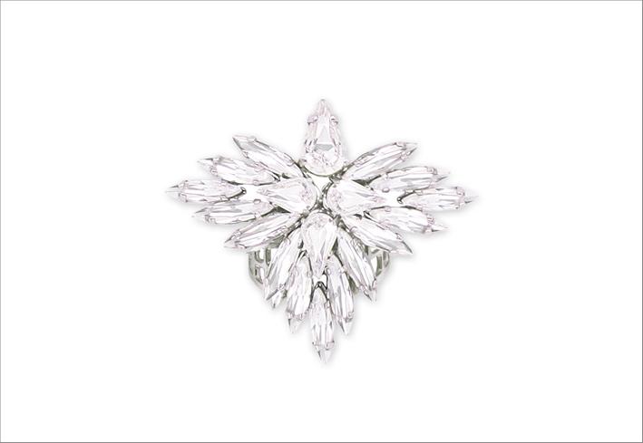 Anello Elsa Ro con cristalli Swarovski