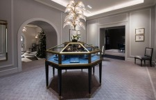 L'interno della boutique Harry Winston