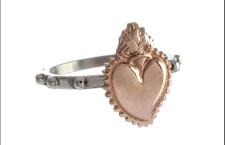 Sacro cuore, anello. Prezzo: 20 euro