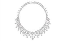 Collana di diamanti e platino di Chaumet
