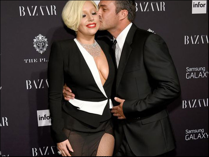 Lady Gaga e il futuro marito, Taylor Kinney