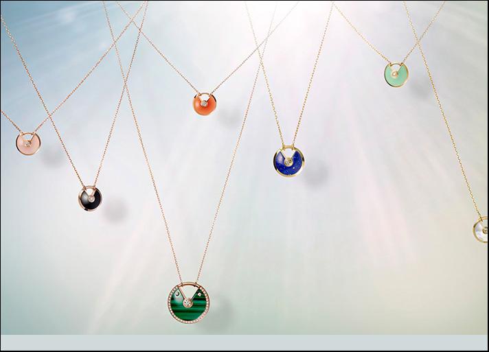 Cartier i nuovi colori della collezione  Amulette