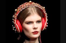 Le cuffie gioiello di Dolce e Gabbana