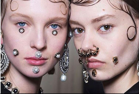 Precious piercing with Givenchy