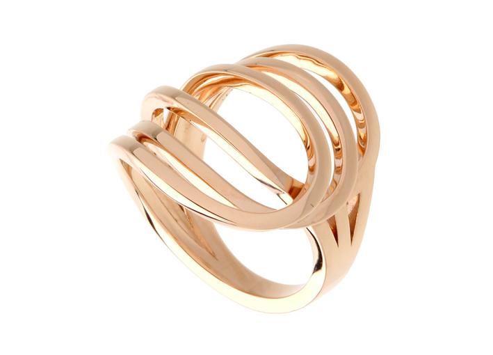 Gaia Repossi, Ligne C, anello in oro rosa