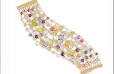 Marco Bicego, bracciale con gemme colorate