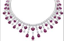 Unique Art Collection, collana di rubini e diamanti