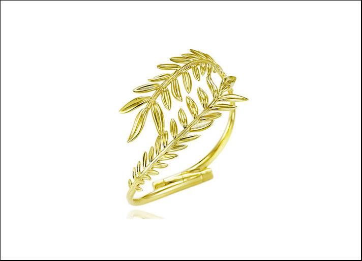 Palme Verte, bracciale in oro giallo 18 carati Fairmined