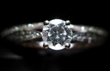 Diamante con piccole inclusioni