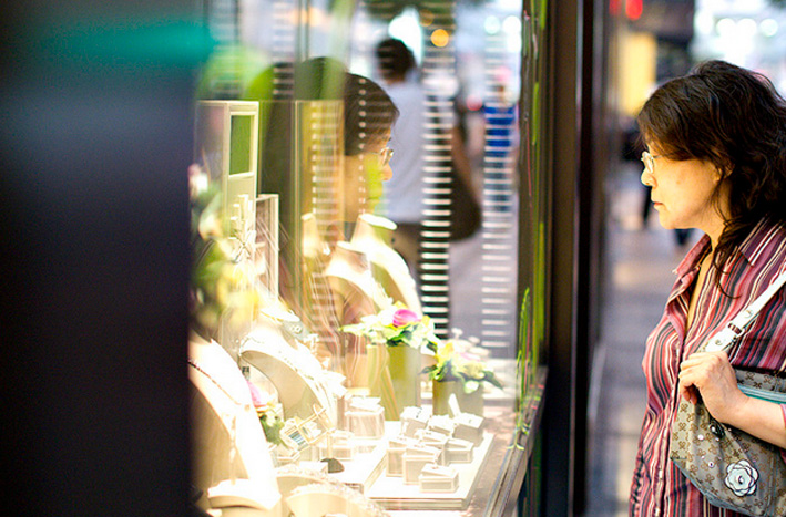 Shopping di gioielli in A Shenyang